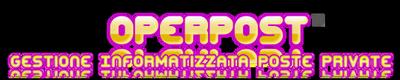 OperPost – Il Software gestionale per Poste Private Logo